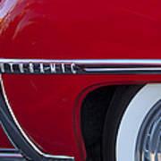 1950 Oldsmobile Rocket 88 Wheel Art Print