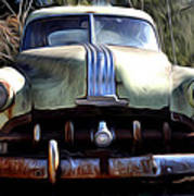 1950 Pontiac  Art Print