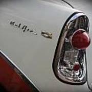 1950s Chevrolet Belair Chevy Antique Vintage Car 2 Art Print