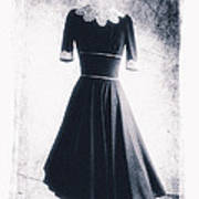 1950s Dress Art Print by David Ridley