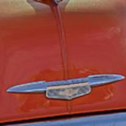 1951 Chevrolet Sedan Delivery Hood Ornament Art Print