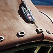 1952 Dodge Hood Emblem Art Print