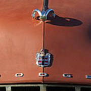 1952 Dodge Ram Hood Ornament 3 Art Print
