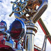 1952 L Model Mack Pumper Fire Truck 3 Art Print