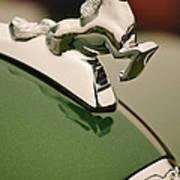 1952 Sterling Gladwin Maverick Sportster Hood Ornament Art Print