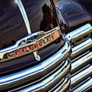 1953 Chevy Pickup Grille Art Print