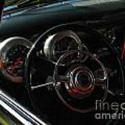 1953 Mercury Monterey Dash Art Print
