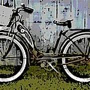 1953 Schwinn Bicycle Art Print