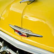 1954 Chevrolet Hood Ornament 4 Art Print