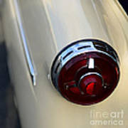 1954 Ford Customline Tail Light Art Print