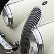 1954 Jaguar Xk120 Roadster Grille Art Print