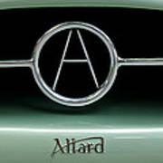1955 Allard J2r Emblem Art Print