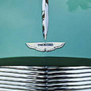 1955 Aston Martin Grille Emblem Art Print