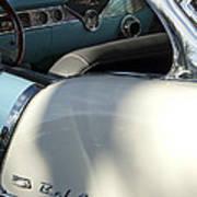 1955 Chevrolet Belair Dashboard 2 Art Print
