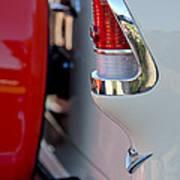 1955 Chevrolet Belair Taillight Emblem Art Print
