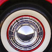 1955 Chevrolet Nomad Wheel Art Print