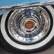 1956 Cadillac Front Wheel Art Print