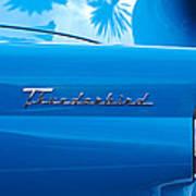 1956 Ford Thunderbird Taillight Emblem Art Print