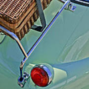 1957 Bmw Isetta 300 Motocoupe Taillight Art Print
