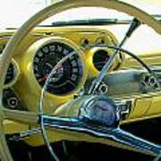 1957 Chevy Bel Air Dash Art Print
