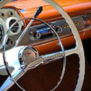 1957 Chevy Dash Art Print