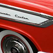 1957 Nash Ambassador Custom Art Print
