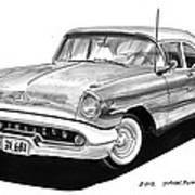 Oldsmobile Super 88 Art Print