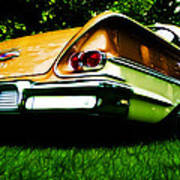 1958 Chevrolet Delray Art Print by Phil 'motography' Clark