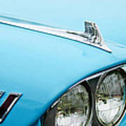 1958 Chevrolet Impala Fender Spear Art Print