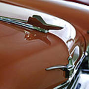 1958 Chrysler Imperial Hood Ornament Art Print