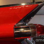 1959 Cadillac Convertible - 7d17386 Art Print