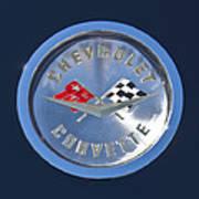 1959 Chevrolet Corvette Emblem Art Print