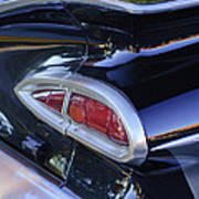 1959 Chevrolet Impala Taillight Art Print