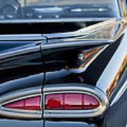 1959 Chevrolet Taillight Art Print