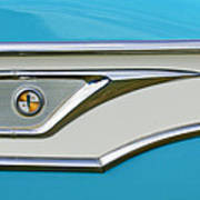 1959 Edsel Corvair Side Emblem Art Print