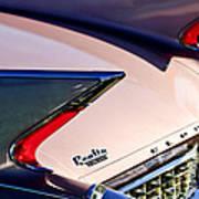 1960 Cadillac Eldorado Taillights Art Print
