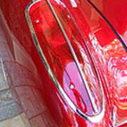 1960 Chevrolet Corvette Tail Light Art Print