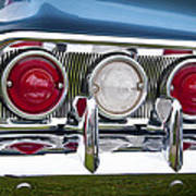 1960 Chevrolet Impala Tail Light Art Print