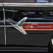 1960 Chevy Impala Print by Mike McGlothlen