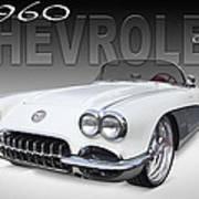 1960 Corvette Art Print by Mike McGlothlen