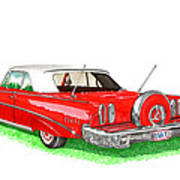 1960 Edsel Ranger Continental Kit Art Print