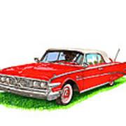 1960 Edsel Ranger Convertible Art Print