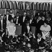 1960 Inaugural Ball. President Kennedy Print by Everett