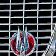 1960 Studebaker Hawk Coupe Emblem Art Print