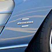 1961 Chevrolet Corvette Zob  Art Print
