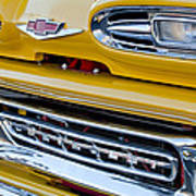 1961 Chevrolet Front End Art Print
