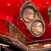 1961 Chrysler 300g 2-door Hardtop Art Print