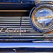 1961 Pontiac Catalina Grille Emblem Art Print