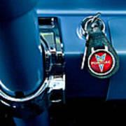 1961 Pontiac Catalina Key Ring Art Print
