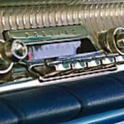 1961 Pontiac Catalina Radio Art Print